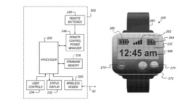 Apple's patent shows a schematic for a portable action camera as well as a rendering of a remote control.