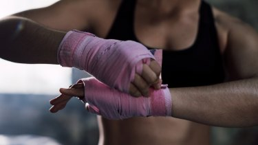 Boxing also has health benefits, including keeping fit and punching away stress.