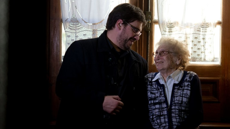 Guillermo Perez Roisinblit, 38, and his 96-year-old grandmother Rosa de Roisinblit in Buenos Aires in May of this year.