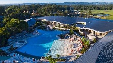 Elements of Byron resort, designed by Shane Thompson Architects, has finished its construction phase.