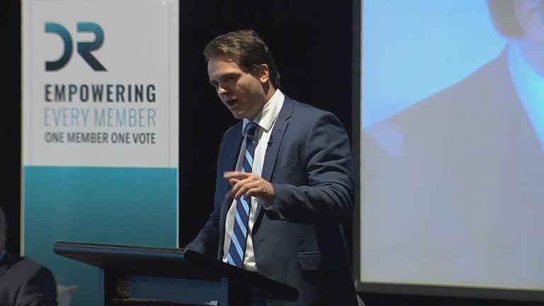 Marcus Bastiaan has made it his mission to re-energise the Liberals' conservative base.