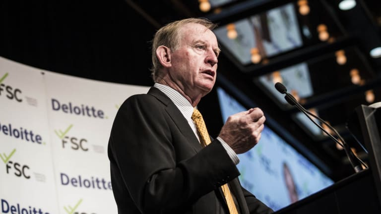 A matter of trust: Financial system inquiry chairman David Murray.