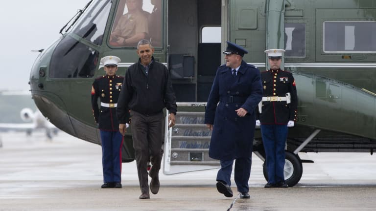 President Barack Obama is on his way to Vietnam.