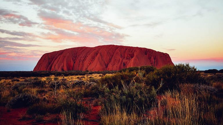 Grainger Films provided a new perspective on Uluru, from a drone.
