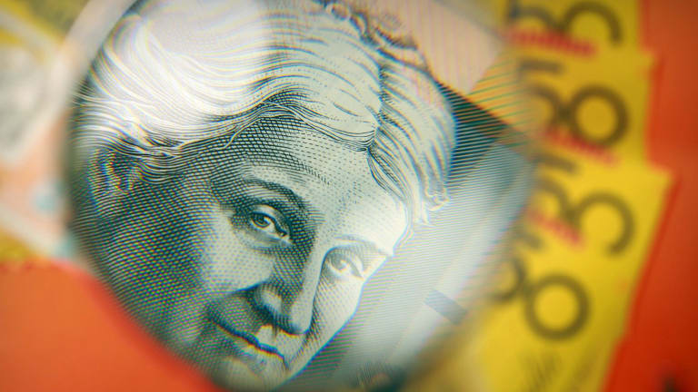 The Aussie dollar has jumped in recent weeks.