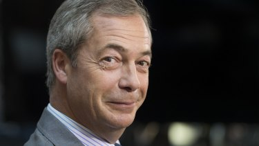 Former UK Independence Party leader Nigel Farage.