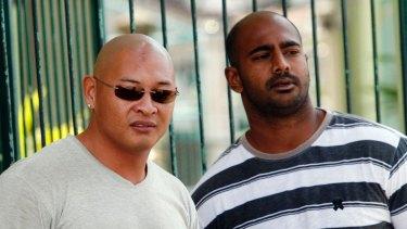 Facing firing squad: Andrew Chan and Myuran Sukumaran.