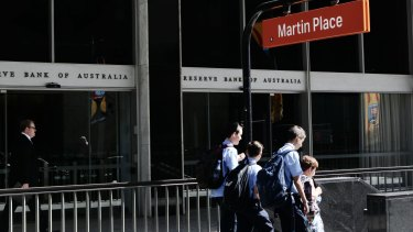 The RBA has left rates on hold in April.