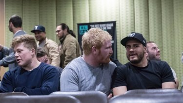 Mass meeting: Nearly 300 NRL players met to discuss the status of the collective bargaining agreement negotiations.