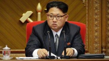 North Korean leader Kim Jong-un pictured in Pyongyang in 2016.
