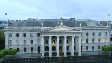 Dublin's GPO, the centre of activities during the centenary of the 1916 Easter Rising.