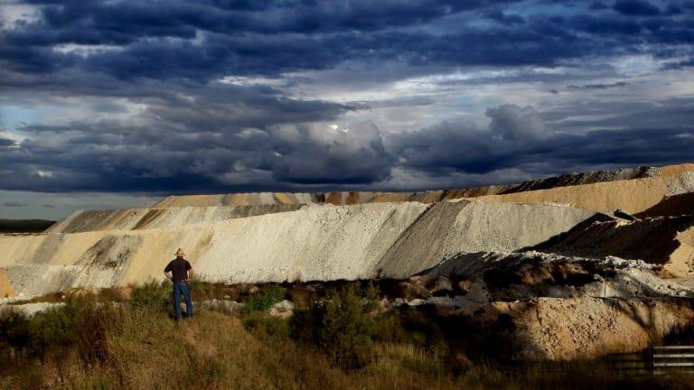 The Boggabri coal mine in northern NSW.