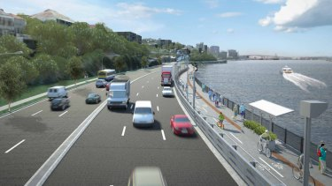 The RACQ claims the proposed widening of Kingsford Smith Drive is not needed.