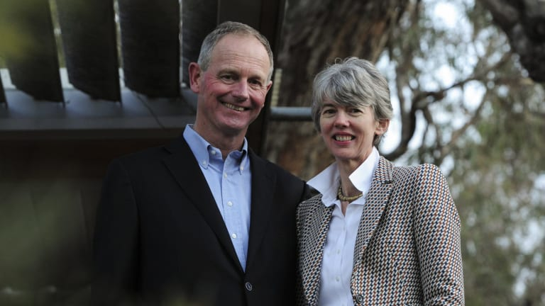 Graham and Louise Tuckwell say their scholarship program at ANU is intended to encourage students to get involved and give back.