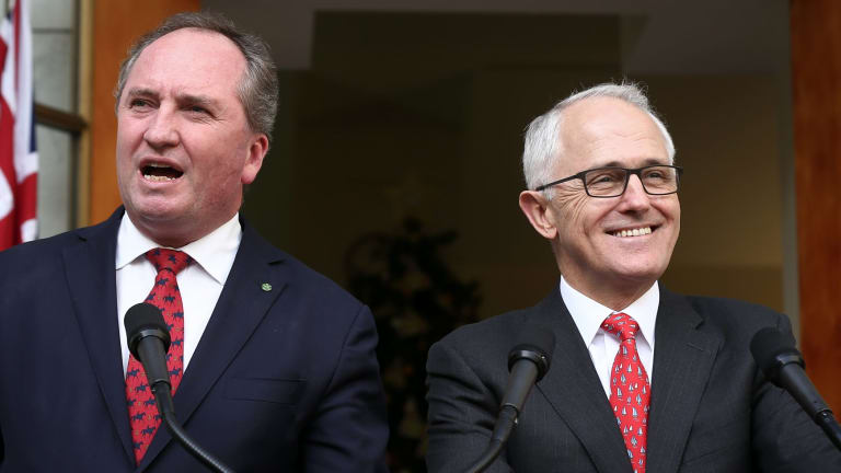 Barnaby Joyce and Malcolm Turnbull have both expressed support for building new coal-fired power plants.