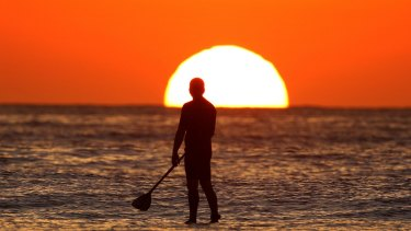 Abnormally warm waters in the Pacific - with more warming to come, the bureau predicts.