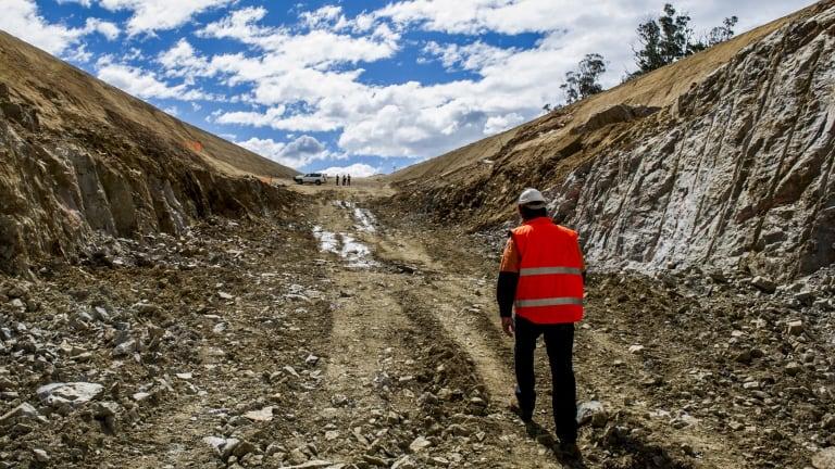 Dargues gold mine at Majors Creek.