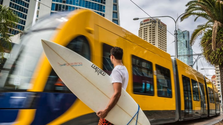 Last year the G:link at the Gold Coast carried 640,000 people a month and a third stage to Burleigh Heads is now planned.