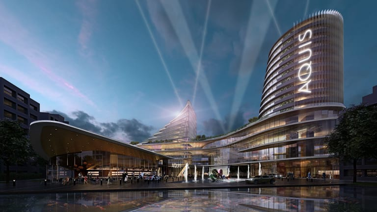 An artist's impression of the proposed redeveloped Canberra casino.
