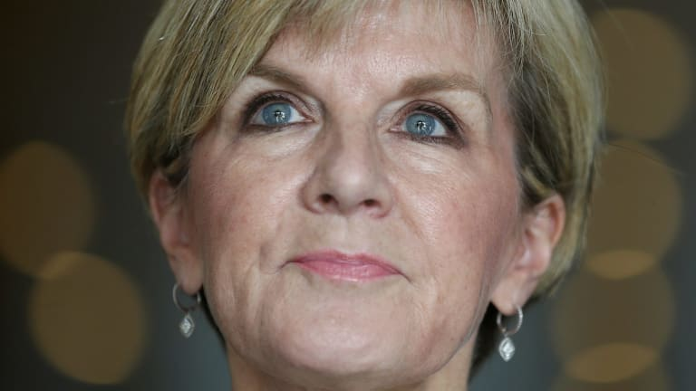 Foreign Affairs Minister Julie Bishop has worked to deepen Australia's relationship with Iran.
