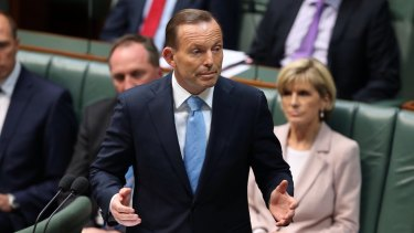 Tony Abbott has issued a call to arms to state premiers to debate reforming the Federation.