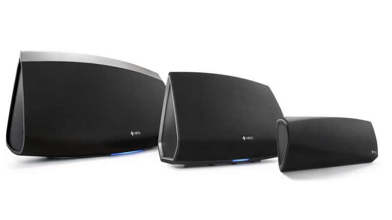 The Heos speaker system from Denon.