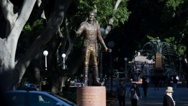 NSW Greens MP David Shoebridge said monuments that only celebrated Macquarie were ignorant of history and insensitive.