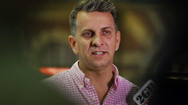 NSW Minister for Transport Andrew Constance says his department is defending community safety.