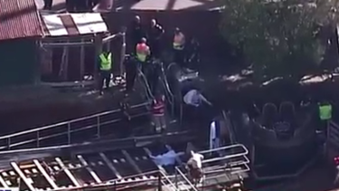 Paramedics rushed to the theme park with reports up to four people had died.