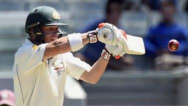 Settled: Australian vice-captain David Warner won't be swapping his blade for a baseball bat.