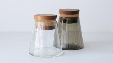 Jamjar storage jar, $250.