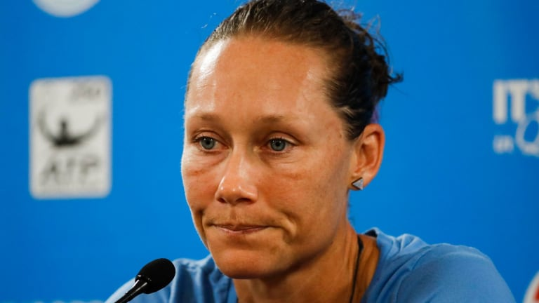 'I did everything I needed to do': Sam Stosur says she was not upset with her premature exit at Brisbane.