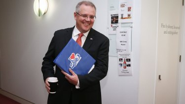 Scott Morrison must sell the government's economic vision in his new role as Treasurer.