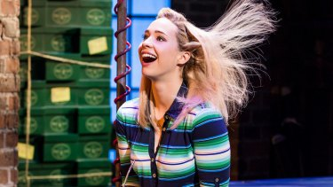Understated humour: Sophie Wright plays Lauren, Charlie's offbeat love interest.