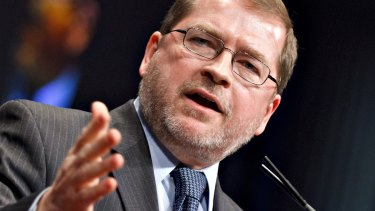 Anti-tax activist Grover Norquist was instrumental in forcing the US government shutdown of 2013.
