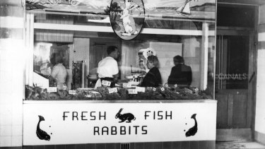Canals Seafoods has operated out of their Nicholson Street store since the 1930s.