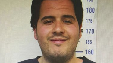 Ibrahim el-Bakraoui is pictured in a July 2015 image taken by Turkish police.