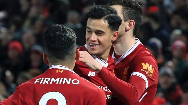 Always gives 100 per cent: Philippe Coutinho never played better for the Reds than between September and December, after being denied a summer move.