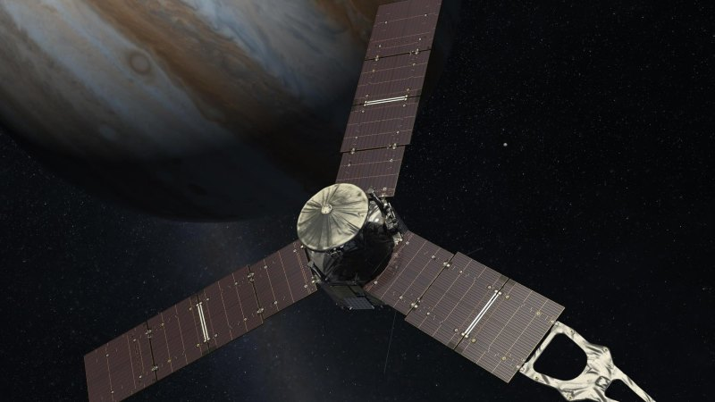 planet nasas juno spacecraft - 800×450