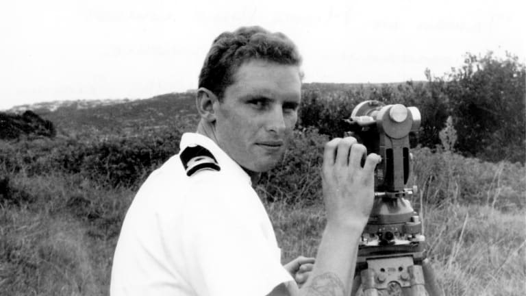 James Bond plied his trade in the small survey ships that continue to chart Australian waters.