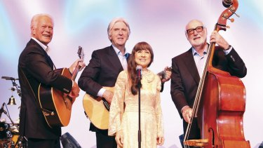 The Seekers during their Golden Jubilee Tour of the UK in 2014.