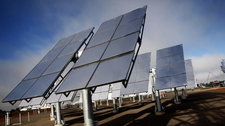 Indian mining giant Adani is pursuing a solar power project in Australia after years of delays in building a mega coalmine in central Queensland.