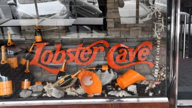 The Lobster Cave restaurant, where the meeting between Matthew Guy and Tony Madafferi and friends was held.