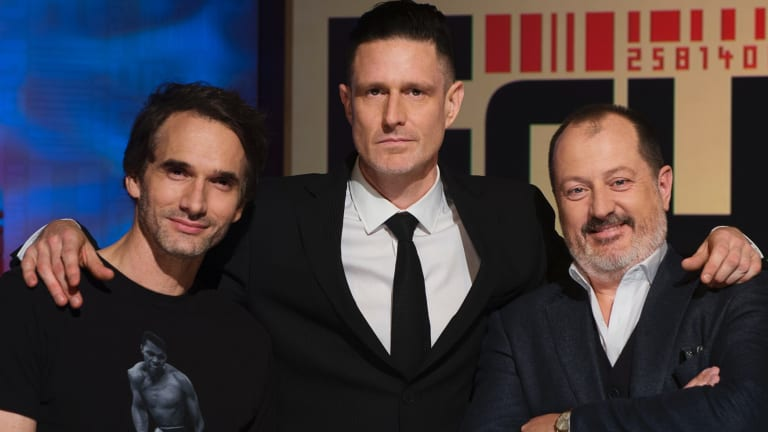 Russel Howcroft is well known for his role on ABC show The Gruen Transfer.