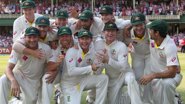Where are they now? The Australian team that won the Ashes 5-0.