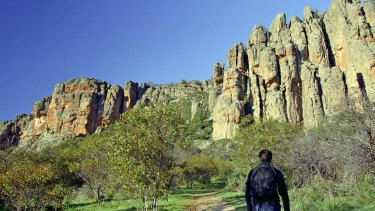 Mount Arapiles, in Victoria's west,  is a popular destination for climbers.