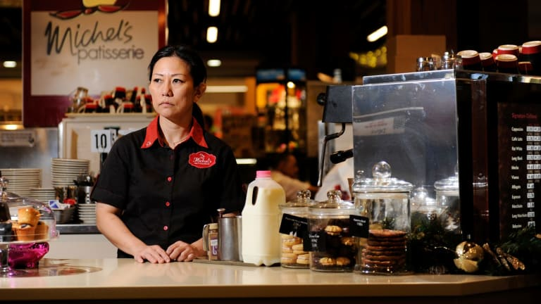 Michel's Patisserie owner Devi Trimuryani says she wants to sell.