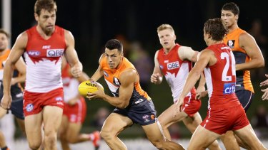 The Swans and Giants are unhappy with the AFL's promotion of the game in the northern states.