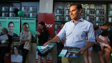 """Sydney has delcared its independence once again"": NSW State Election  Alex Greenwich."