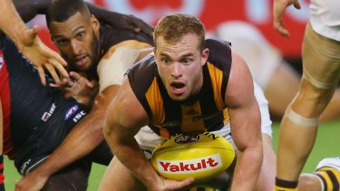 Tom Mitchell has fitted right in with the Hawks.